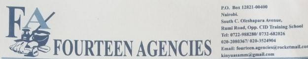 fourteen agencies