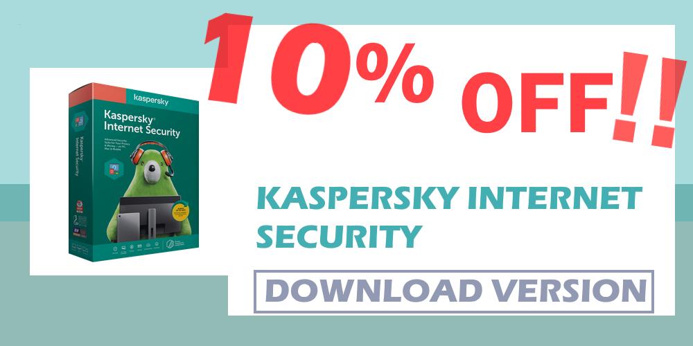 10% off Kaspersky Internet security kenya Essart ke