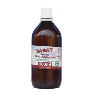 SABAT Pro Bio Nutritional Supplement (500ml bottle)