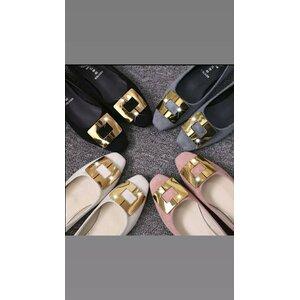 Women suede flat shoes