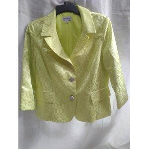 Yellow women's blazer