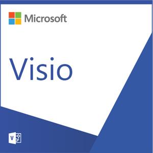 Microsoft Visio Professional 2019 Open License Program Single Language NL