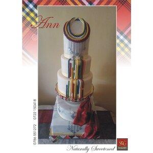 WEDDING CAKES: MASAAI THEME 010