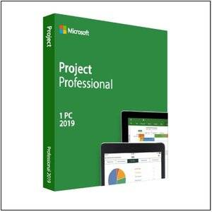 Microsoft Project Professional 2019 License 1 PC Open License Win - Single Language - with Project Server CAL NL